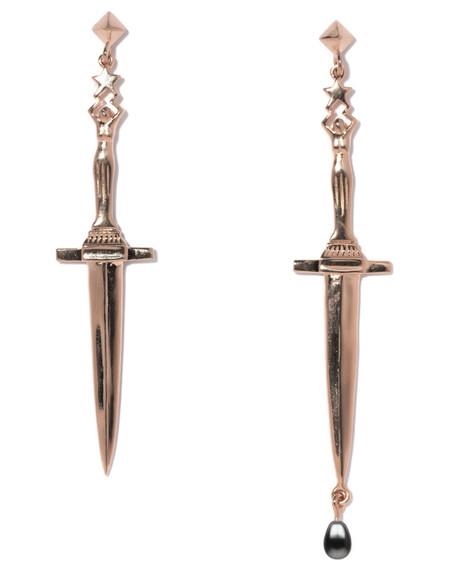Pamela Love Mini Dagger Earrings