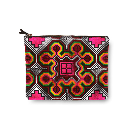 Marie Turnor The HOLA Flat Zip Clutch