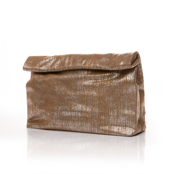 Marie Turnor The Lunch — Textured Brown Suede