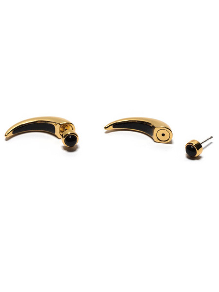 Pamela Love Inlay Horn Earrings