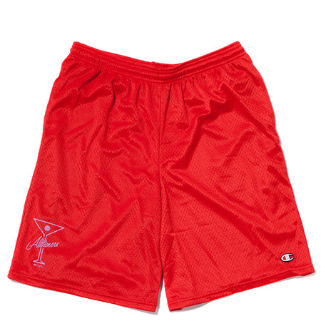 ALLTIMERS BALL FOREVER SHORTS - RED