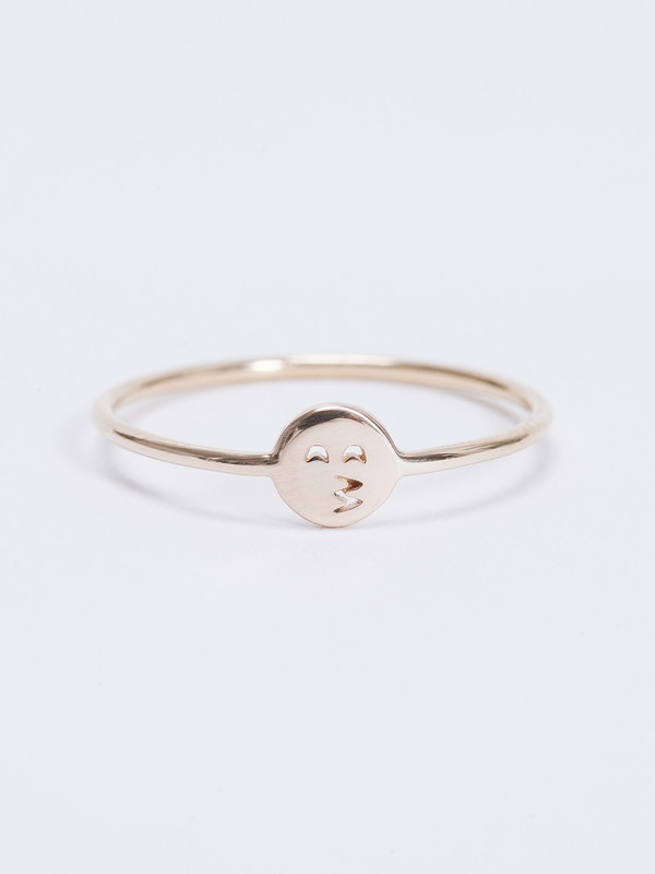 Winden Kissing Face Ring