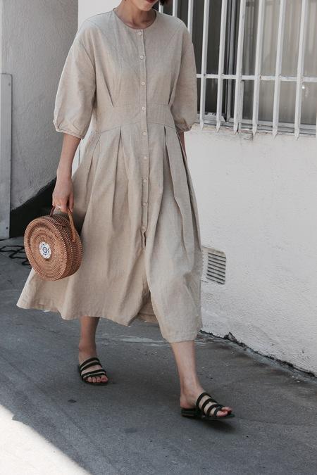 Sister Market Summer Beige Dress