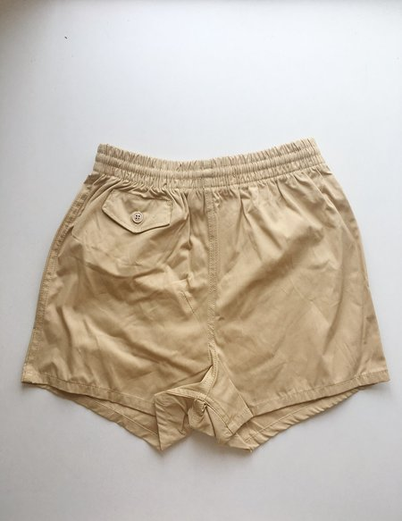 le Market Vintage Swim Shorts - Camel