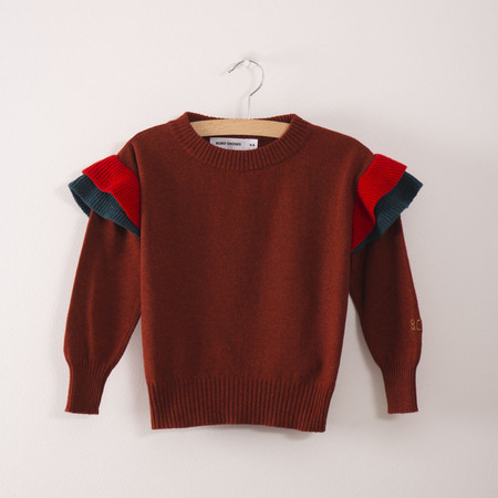 Kid's Bobo Choses Ruffles Knitted Kid's Jumper