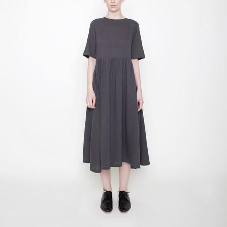 7115 by Szeki Linen Play Dress - Gray