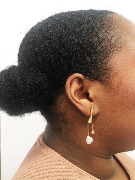 Wolf Circus Calder Earrings - Gold