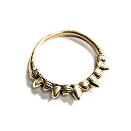 Pamela Love Tribal Spike Midi Ring