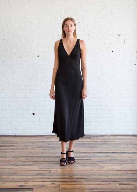 Raquel Allegra Tulip Dress Black