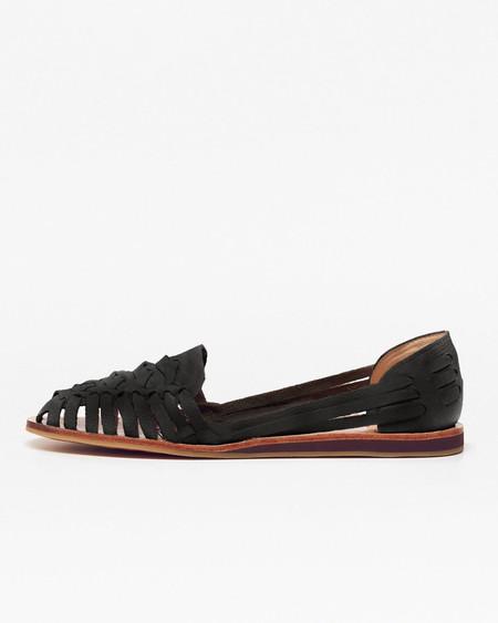 Nisolo Ecuador Huarache Sandal Black