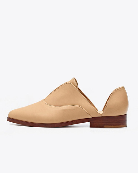 Nisolo Emma d'Orsay Oxford Beige