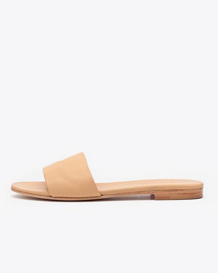 Nisolo Isla Slide Sandal Beige