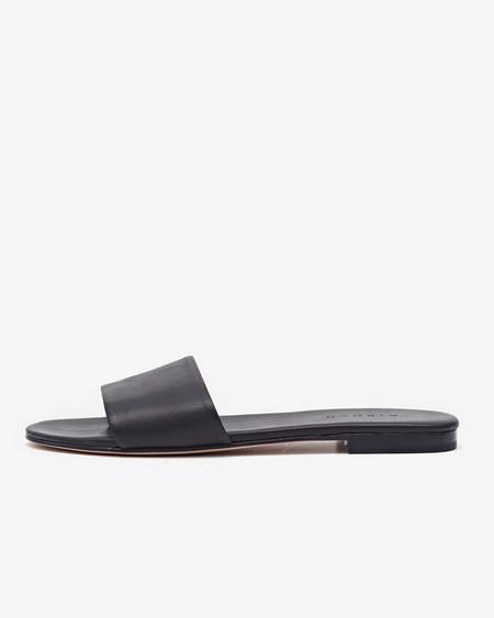 Nisolo Isla Slide Sandal Noir