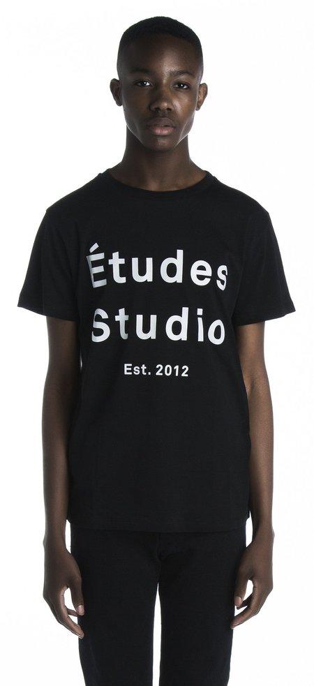 Page Etudes Black T-Shirt