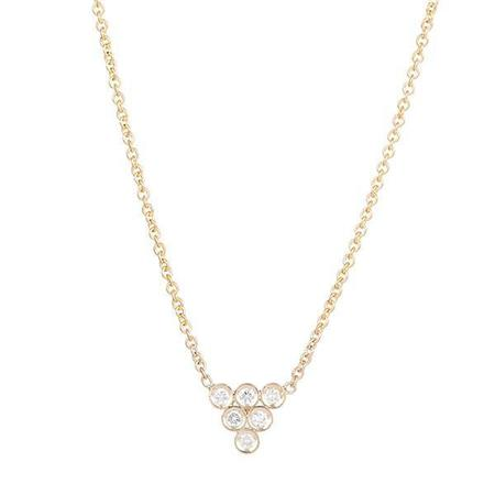 Ariel Gordon Diamond Triad Necklace