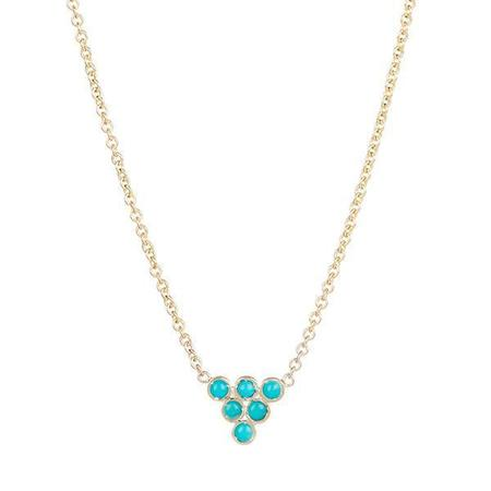 Ariel Gordon Turquoise Triad Necklace