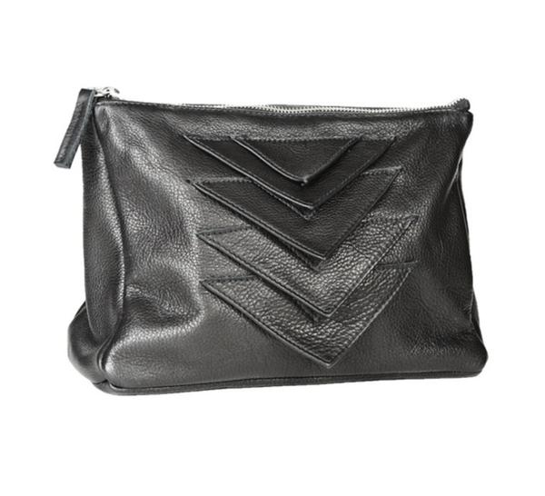 Collina Strada Giro Bag Black Leather