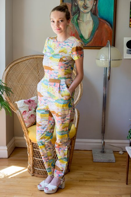 Birds of North America Gyrfalcon Jumpsuit - Enchanted