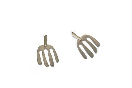 Seaworthy Kamala Earrings - Brass/Sterling Silver