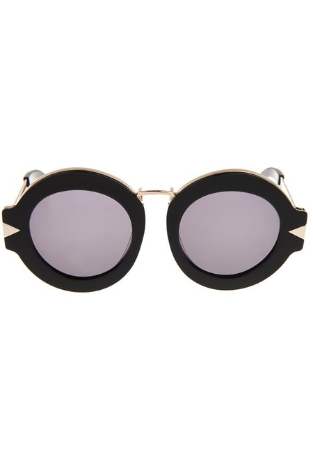 Karen Walker 'Round Maze' Sunglasses