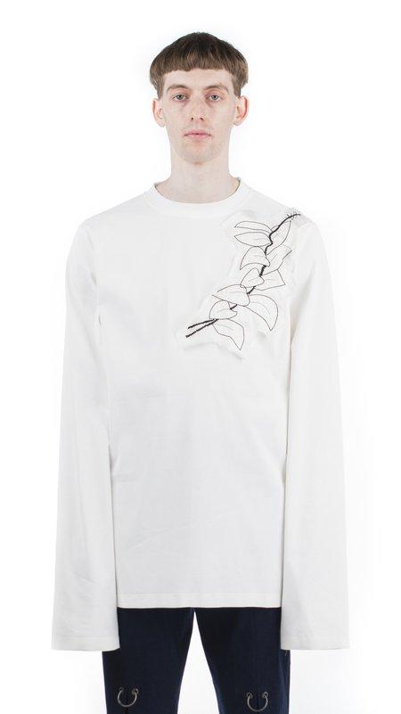Unisex Damir Doma Tzvi Embroidered tshirt