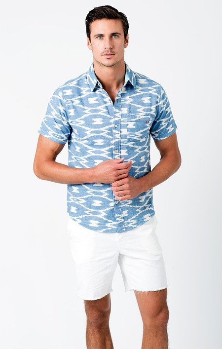 Sol Angeles Cenote Woven Short Sleeve Shirt
