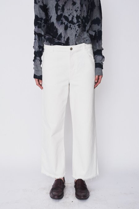 Sandy Liang Cotton Ghost Jeans