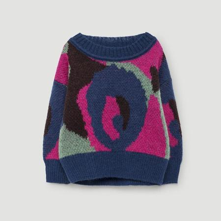 Kids The Animals Observatory Bull Baby Sweater