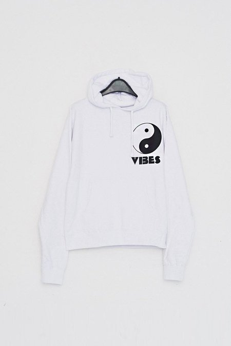 Assembly New York Cotton Vibes Hoodie - White
