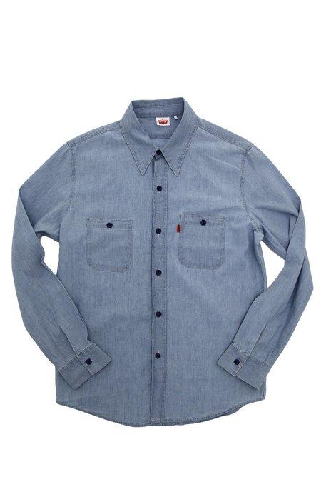 Levi's Vintage Clothing 1960's Chambray Shirt - Blue