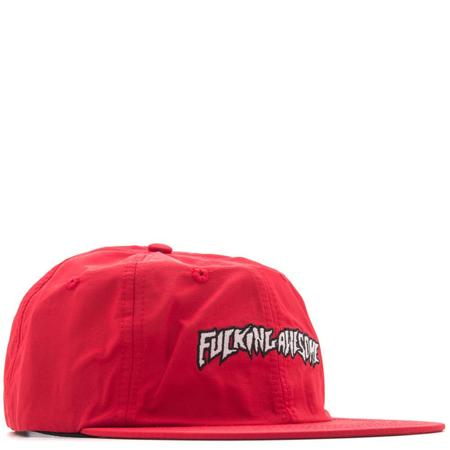 FUCKING AWESOME OUTLINE LOGO HAT - RED