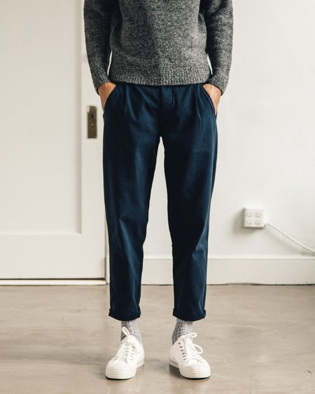 Folk Assembly Pant - Navy