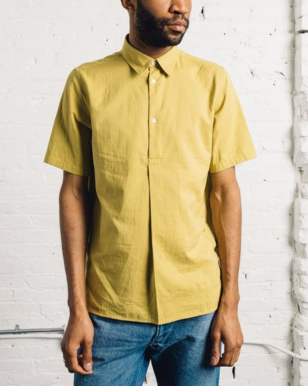 Norse Projects Theo Double Layer Cotton - Edge Yellow