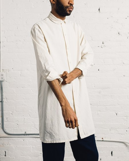Olderbrother Long Shirt - White