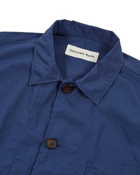 Universal Works Blue Bakers Overshirt