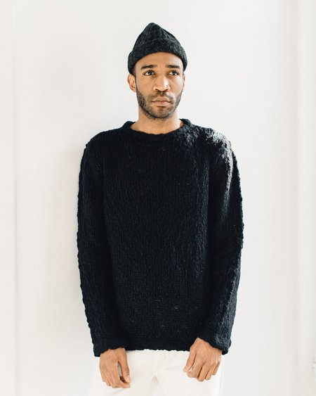 YMC Bauhaus Knit, Black