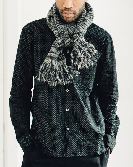 YMC Wickerman Grey Scarf