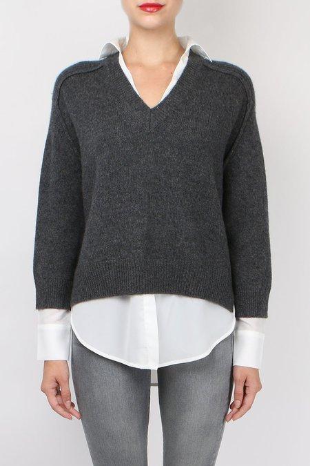 Brochu Walker V-Neck Layered Pullover