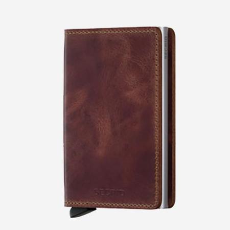 Secrid Slim Wallet - Vintage Brown
