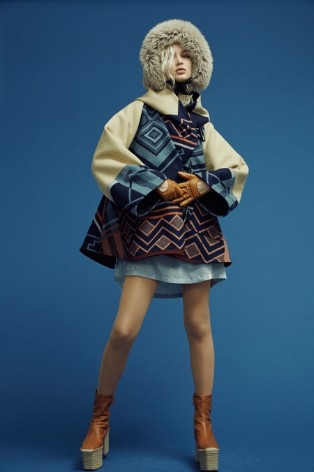 Lindsey Thornburg + Pendleton The Peaceful Ones Trench Cloak