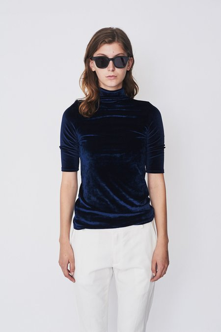 Assembly New York Velvet Mockneck T-Shirt