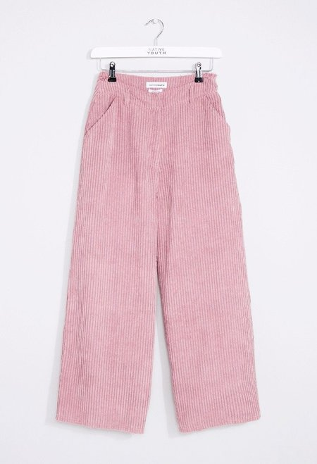 Native Youth Zori Corduroy Pants