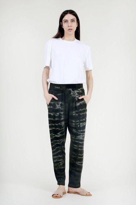 Raquel Allegra Army Tie Dye Easy Pant