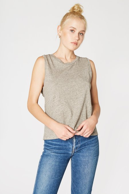 Lacausa Clothing Muscle Tee - Heather Grey
