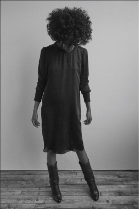 KES Pullover Chiffon Dress