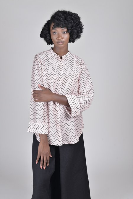 Apiece Apart Aster Button Up Blouse