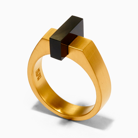 Ming Yu Wang Ford Ring - Gold