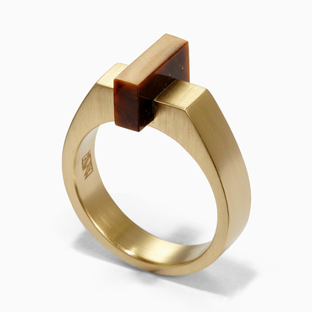Ming Yu Wang Ford Ring - Brass