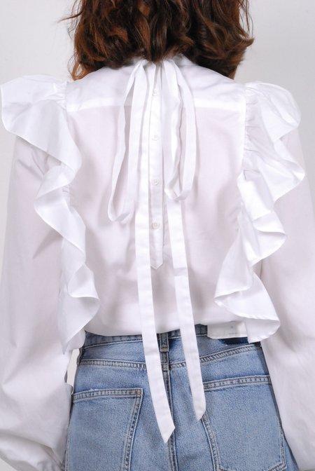Warm Karyn Blouse - White