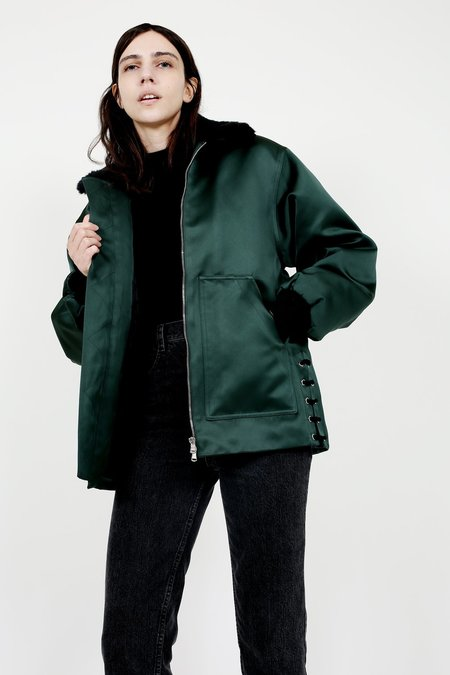 Nomia Spruce Exclusive Laced Aviator Jacket